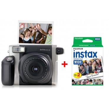 Fujifilm Instax WIDE 300 + 2 Fujifilm Instax WIDE Film 2x 10 Bilder