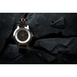 LAiMER Holzuhr Julia - Damen Armbanduhr 100% Sandelholz mit SWAROSKI Kristalle