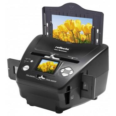 Reflecta 3 in 1 Scanner für Dias, Negative + Fotos - Spielend digitalsieren