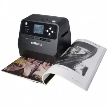 Reflecta Combo Album Scanner für Dias, Negative + Fotos - Spielend digitalsieren