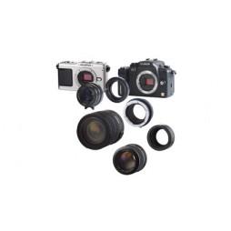 Novoflex Adapter Contax Yashica Objektive an MFT Olympus PEN ,