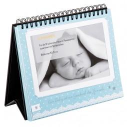 Goldbuch Baby Tischaufsteller für 12 Fotos in 10x15 cm 46802