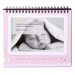 Goldbuch Baby Tischaufsteller für 12 Fotos in 10x15 cm 46801