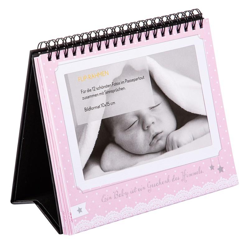 goldbuch baby tischaufsteller f r 12 fotos in 10x15 cm 46801. Black Bedroom Furniture Sets. Home Design Ideas