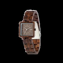 LAiMER Holzuhr Isabel - Damen Armbanduhr 100% Sandelholz , Südtirol