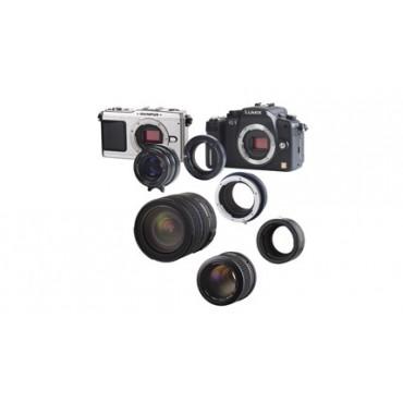 Novoflex Adapter T2 Objektive an MFT Olympus PEN oder Panas