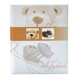 Goldbuch Babytagebuch Baby Album Trendbär 11355