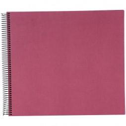 Goldbuch Spiralalbum Bella Vista fuchsia 35x30cm 40 weiße Seiten 25608
