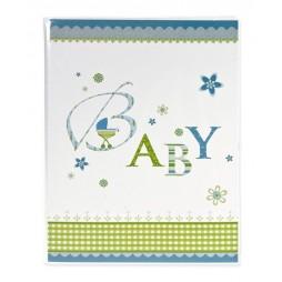 Goldbuch Einsteckalbum Baby blau 16086
