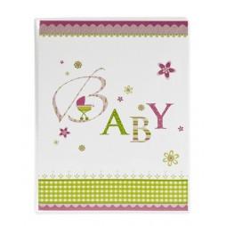 Goldbuch Einsteckalbum Baby rosa 16086