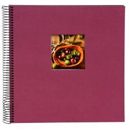 Goldbuch Spiral Fotoalbum Bella Vista 20x20 cm fuchsia 12708