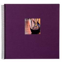 Goldbuch Spiral Fotoalbum Bella Vista 20x20 cm dark aubergine 12718