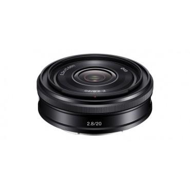 Sony SEL 20 mm f2,8 Schwarz APS-C-Objektiv SEL20F28