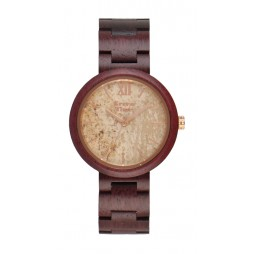 GreenTime by Zzero Firenze - Unisex Armbanduhr mit Marmorziffernblatt