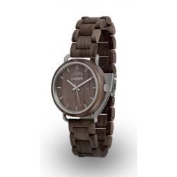 LAiMER Holzuhr Fabius Unisex Armbanduhr 100% Sandelholz , Südtirol