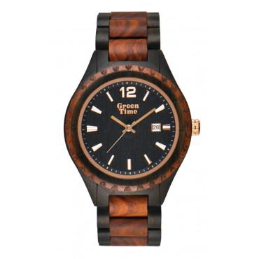 Holzuhr Henry - Herren Armbanduhr aus Zebranoholz