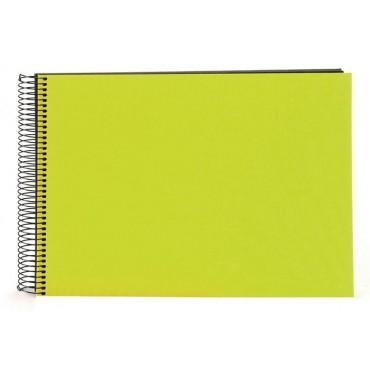 Goldbuch Spiralalbum Bella Vista grün 23x17cm, 40 schwarze Seiten 20962