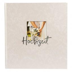 Hochzeitsalbum Hand in Hand 30x31 cm , 60 weiße Seiten 08388