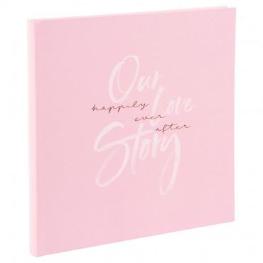 Goldbuch Hochzeitsalbum Our Love Story 08168 - 60 weiße Seiten