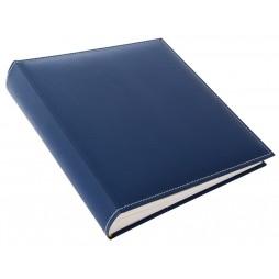 Goldbuch Kunstleder Fotoalbum Cezanne blau 31818 , 100 weiße Seiten 30x31 cm