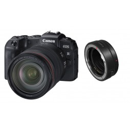 Canon EOS RP + RF 24-105 mm f4,0 L IS USM + Adapter EF-EOS R, Kamera-Kit