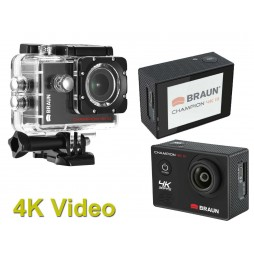 BRAUN CHAMPION 4K III Ultra HD ActionCam bis 30m Wasserdicht WiFi