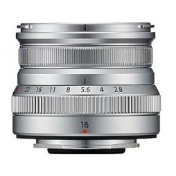 FUJIFILM Fujinon Objektiv XF 16mm F2.8 R WR silber