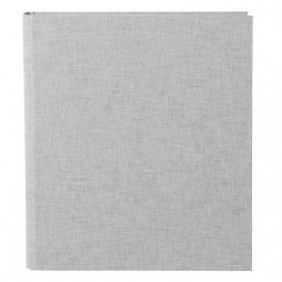 Goldbuch Foto Ringbuch Leinen hellgrau - für die flexible Aufbewahrung