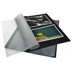 Goldbuch Fotokarton schwarz 83006 für Ringbuch - für die flexible Aufbewahrung