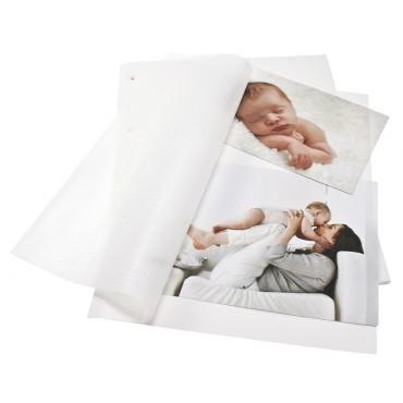 Goldbuch Fotokarton weiß 83001 für Ringbuch - für die flexible Aufbewahrung