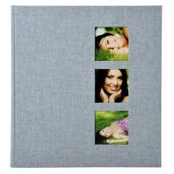 GoldbuchFotoalbum Style grau 27630 31x30cm, 60 weiße Seiten