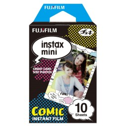 Fujifilm Instax Mini Comic WW 1 Sofortbildfilm Color