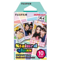 Fujifilm Instax Mini Stained Glass WW 1 Sofortbildfilm Color