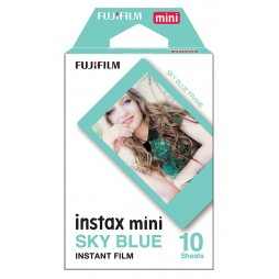 Fujifilm Instax Mini Skyblue Frame WW 1 Sofortbildfilm Color