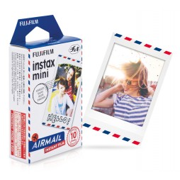 Fujifilm Instax Mini Airmail WW 1 Sofortbildfilm Color