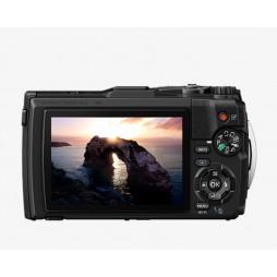 Olympus Tough TG-6 schwarz Unterwasser Digital Kamera