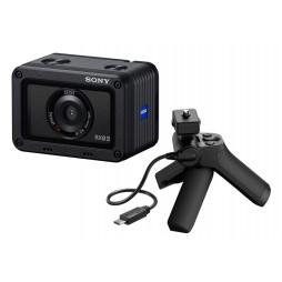 Sony DSC-RX0 II G-Kit schwarz Ultrakompakte Kamera mit VCT-SGR1 Griff