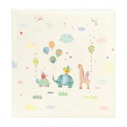 Goldbuch Babyalbum Animal Parade 30x31 cm , 60 weiße Seiten 15453 mit Textvorspann
