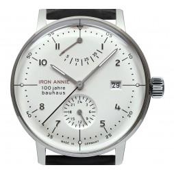 IRON ANNIE 5046-2 BAUHAUS Herrenuhr 40mm 5ATM mit Datum Schwarz