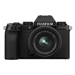 FUJIFILM X-S10 Black Body mit XC15-45mm Kit