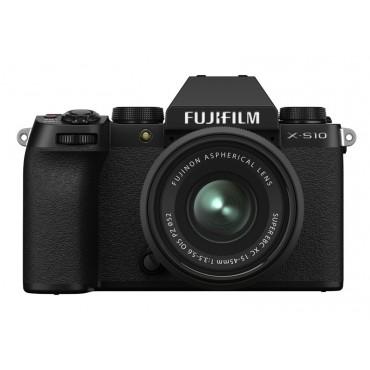 FUJIFILM X-S10 Black Body + XC 15-45 mm F3,5-5,6 OIS PZ