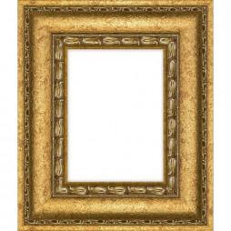 Holzrahmen 'Barock', gold, strukturiert