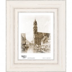 Holzrahmen 'Porto', weiß