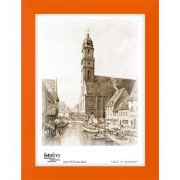 Holzrahmen 'Mexiko', orange