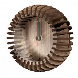 Greentime Design Tischuhr Holzuhr Circular als Bausatz
