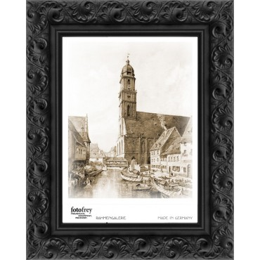 Nielsen Barock Rahmen schwarz 13x18 cm , zum Stellen
